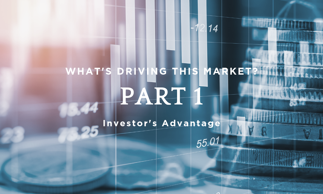 What's Driving This Market? It's Not Investors.